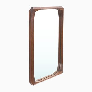 Rectangular Shaped Wooden Frame Mirror from Tredici & Co., 1960s