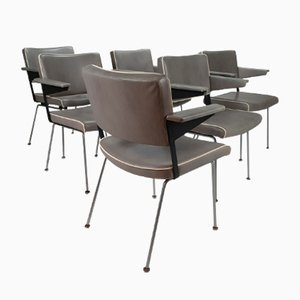 Chairs by André Cordemeijer for Gispen, 1970s, Set of 6