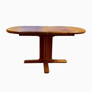 Danish Oval Dining Table in Teak