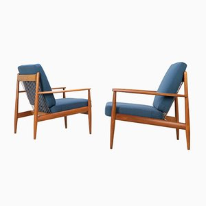 Teak Lounge Chair by Grete Jalk for France & Son / France & Daverkosen, 1950s