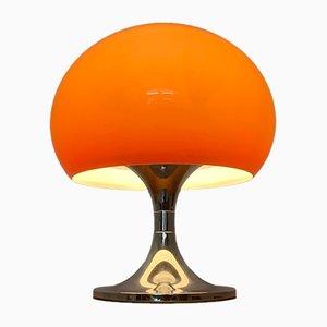 Mid-Century Italian Space Age Duetto Table Lamp by Luigi Massoni for Guzzini