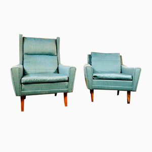 Mid-Century Danish Lounge Chairs by Georg Thams, 1960s, Set of 2