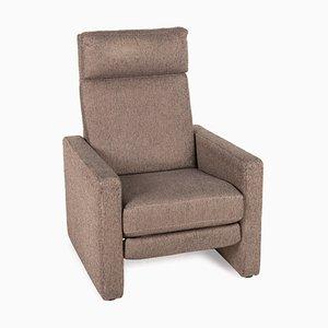 Reclining Beige Fabric Conseta Armchair from COR
