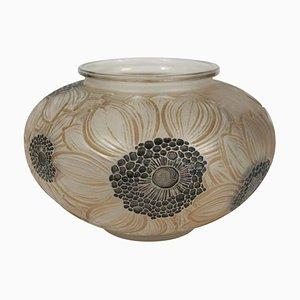 Dahlias Vase by René Lalique
