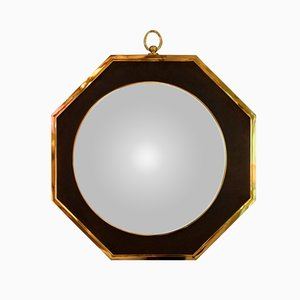 French Oval Wall Mirror, 1970s