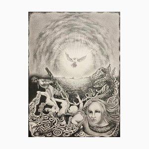 Japanese Drawing, Tomo Sakurai, Forgiveness, 2021