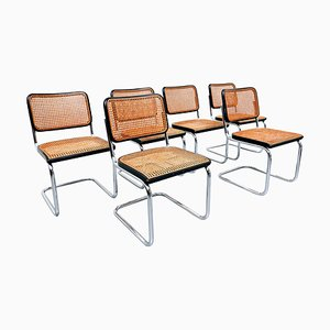 Bentwood Chairs from Thonet, Set of 6