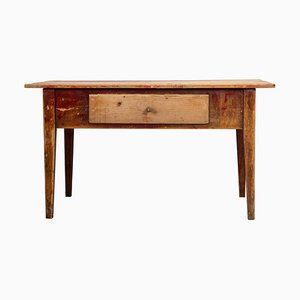 Early 19th Century Swedish Gustavian Style Rustic Worktable
