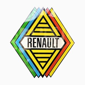 Sign from Renault, France, 1960s
