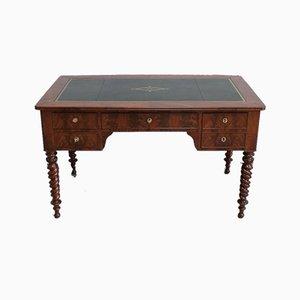 Restoration Period Mahogany Flat Desk, Early 19th Century