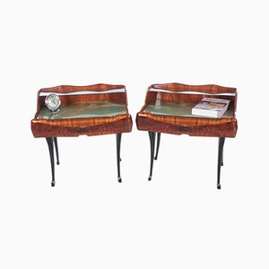 Mid-Century Modern Bedside Tables by Paolo Buffa, Italy, 1950s, Set of 2