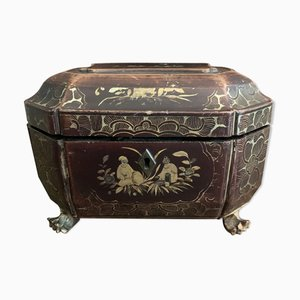 Chinese Lacquer Tea Box, 19th Century
