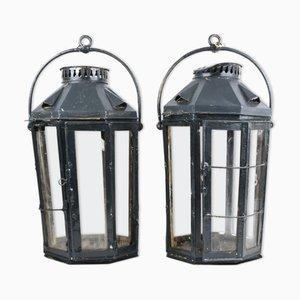 Boat Lanterns, Set of 2
