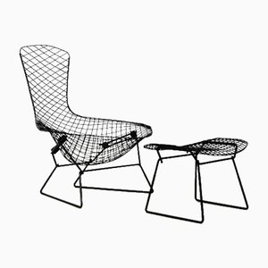 Bird Lounge Chair by Harry Bertoia for Knoll, 1960s, Set of 2