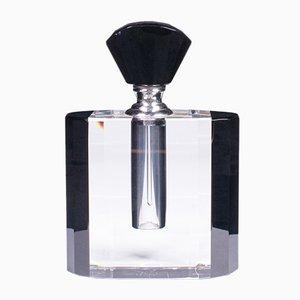 Vintage English Art Deco Glass Cologne Bottle