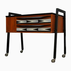 Chest of Drawers in Teak, 1960s