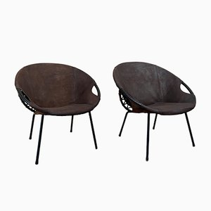 Balloon Chairs from Lush & Co, Set of 2