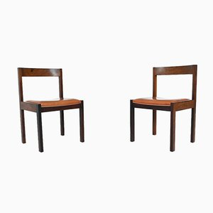 Dining Chairs in Wenge by Martin Visser for 't Spectrum, Netherlands, 1960s, Set of 6