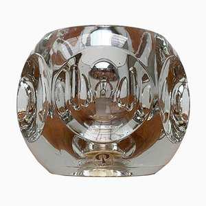 Vintage German Glass Table Lamp from Peill & Putzler