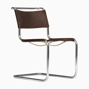Bauhaus S33 Chair by Mart Stam & Marcel Breuer for Thonet, Germany, 1926
