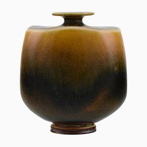 Miniature Vase by Berndt Friberg for Gustavsberg Studio Hand