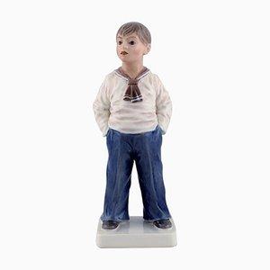 Model Number 1225 Porcelain Sailor Boy by Dahl Jensen