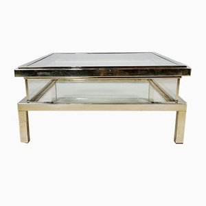 Sliding Coffee Table from Maison Jansen, 1970s