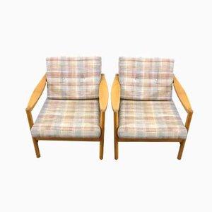 Deutsche Mid-Century Armlehnstühle von Knoll, 1960er, 2er Set