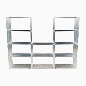 Pantonova Wire Cube Shelves by Verner Panton for Fritz Hansen, 1970s