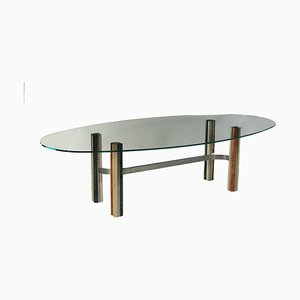 Marble Base Table, 1970s