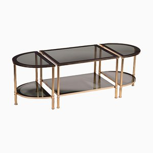Triptych Tables, 1980s, Set of 3