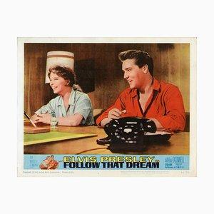 Follow That Dream, Elvis Presley, 1962, Lobbycard