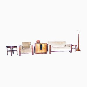 Living Room Set by Cor Alons, Set of 7