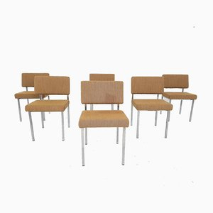 Model SE60 Dining Chairs by Martin Visser for T Spectrum, The Netherlands 1960s, Set of 6