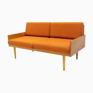 Mid-Century Small Folding Sofa from Interier Praha, 1960s