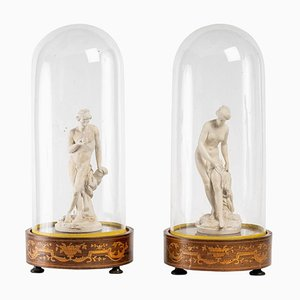 Statuettes in Lorraine Terracotta, Early 19th Century, Set of 2