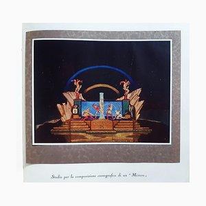 Il Tetiteatro, Book Illustrated by Alberto Martini, 1924