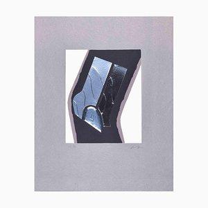 Carlo Scarpa, Into the Space, Original Mixed Media by Carlo Scarpa, 1975