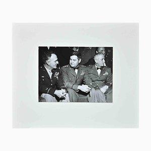 De Wan Studios, Portrait of American WWII Generals, Vintage B&W Photograph, 1940s