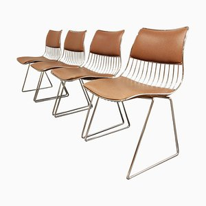 Dining Chairs by Rudi Verelst for Novalux, 1970s, Set of 4