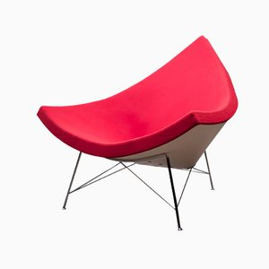 Red Coconut Chair by George Nelson for Vitra, 1950s
