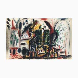 Carnet De Californie 36 by Pablo Picasso