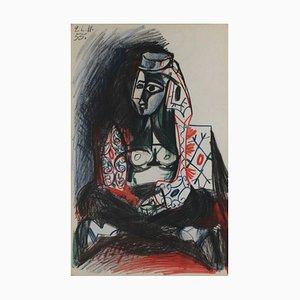 Carnet De Californie 18 by Pablo Picasso