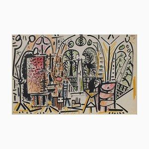 Carnet De Californie 15 by Pablo Picasso