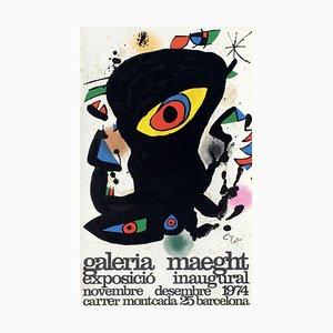 Expo 74 Poster, Barcelona Inaugural by Joan Miro