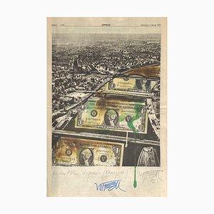 Für den Kölner Express (Rheingold) I von Wolf Vostell