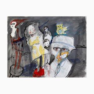 Zwy Milshtein, Sans Titre, 1988