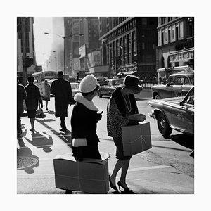 Karol Kallay, Nyc Shopping Couple, 1965