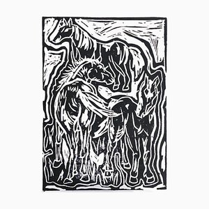 Kimi Salamonová, Three Chestnut Horses, 2020