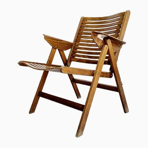 Mid-Century Modern Rex Folding Chair by Niko Kralj for Stol Kamnik, Yugoslavia, 1960s